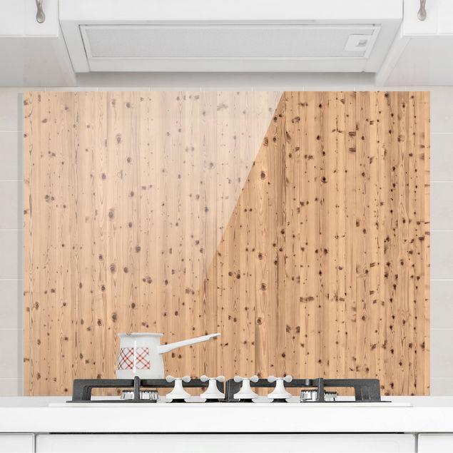 Glas Spritzschutz - Antique Whitewood - Querformat - 4:3