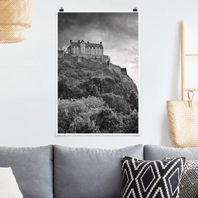 Poster - Edinburgh Castle II - Hochformat 3:2