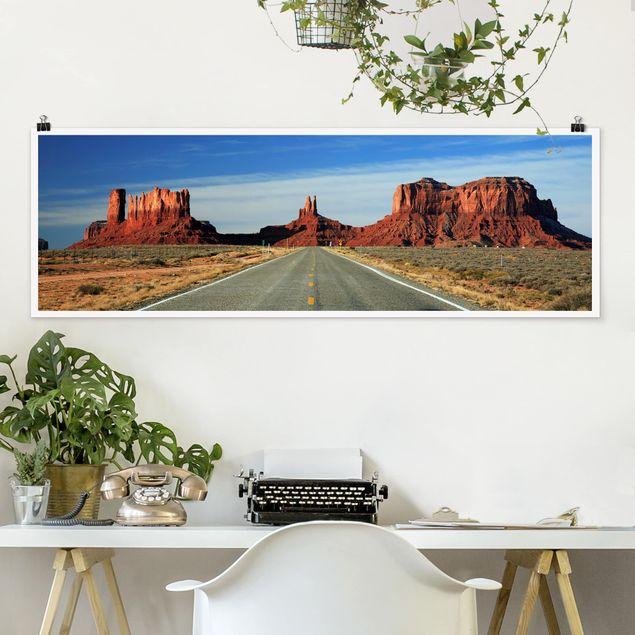 Poster - Colorado-Plateau - Panorama Querformat