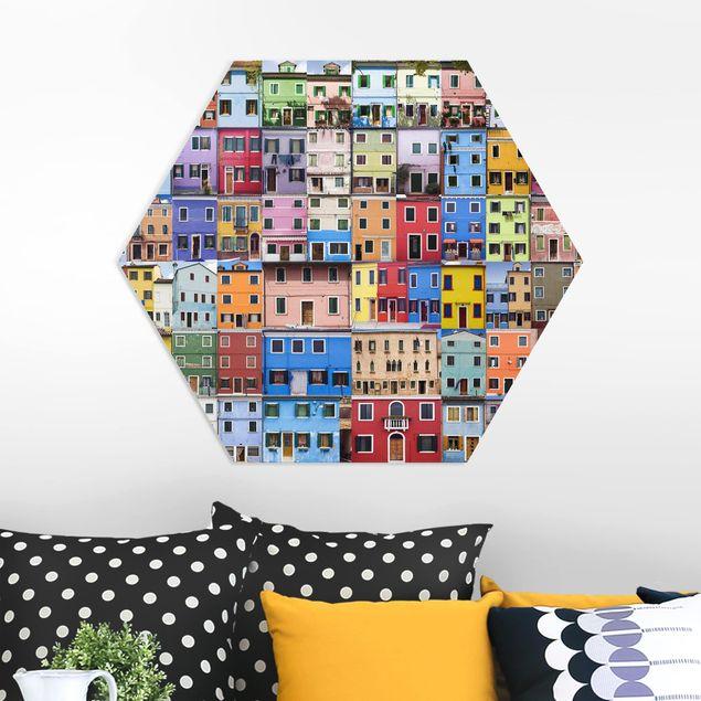 Hexagon Bild Forex - Venezianische Häuser