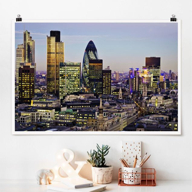 Poster - London City - Querformat 2:3