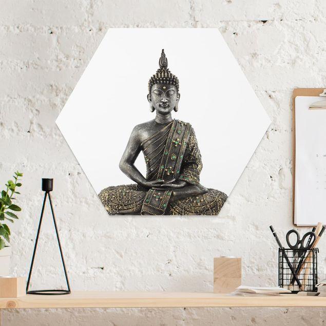 Hexagon Bild Forex - Zen Buddha Stein