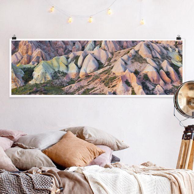 Poster - Tuffstein im Rosental - Panorama Querformat