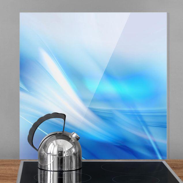 Glas Spritzschutz - Aquatic - Quadrat - 1:1