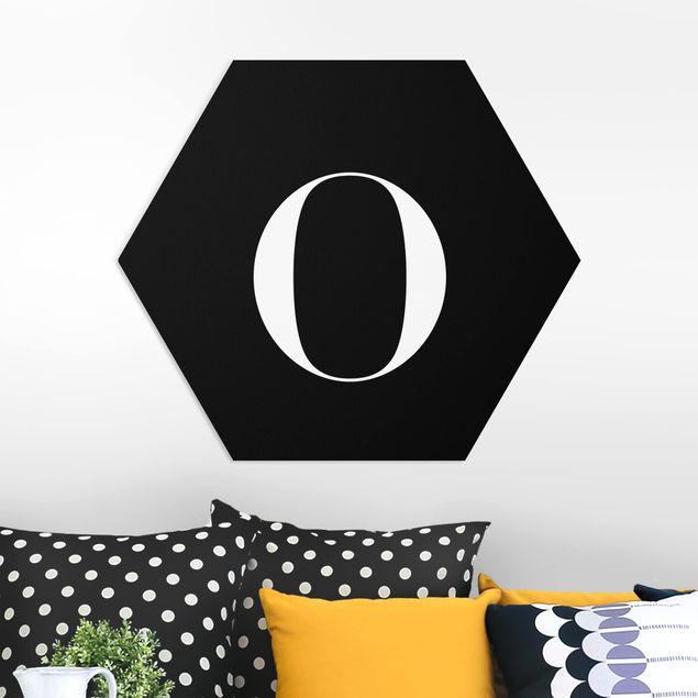 Hexagon Bild Forex - Buchstabe Serif Schwarz O