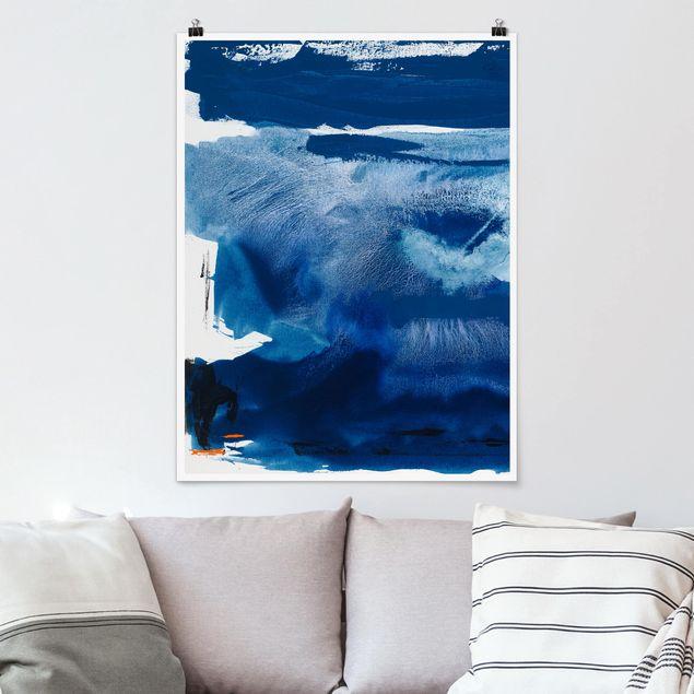 Poster - Tag am Meer I - Hochformat 3:4