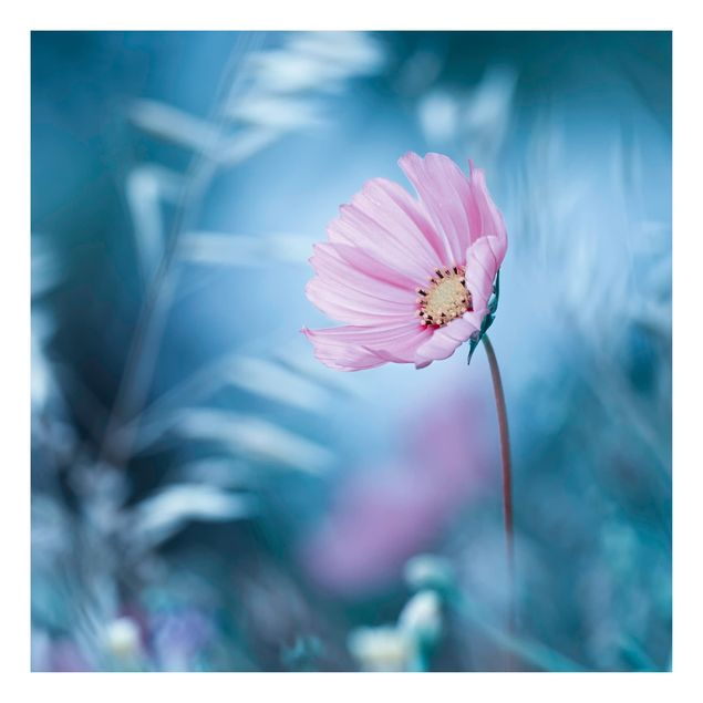 Beistelltisch - Blüte in Pastell