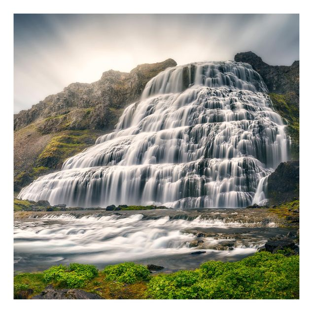 Beistelltisch - Dynjandi Wasserfall