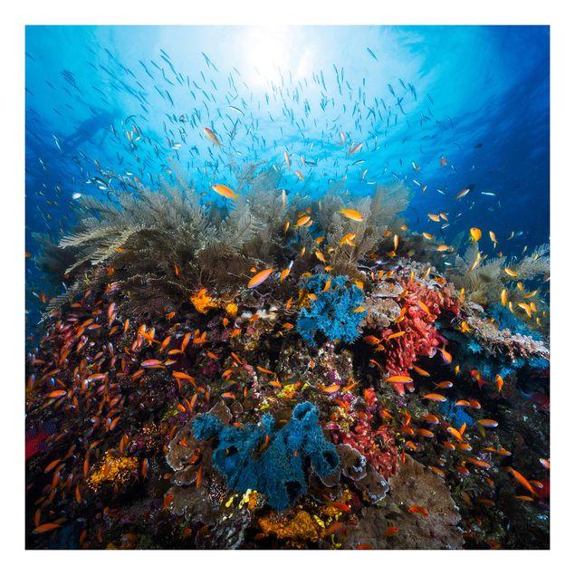 Beistelltisch - Lagune Unterwasser