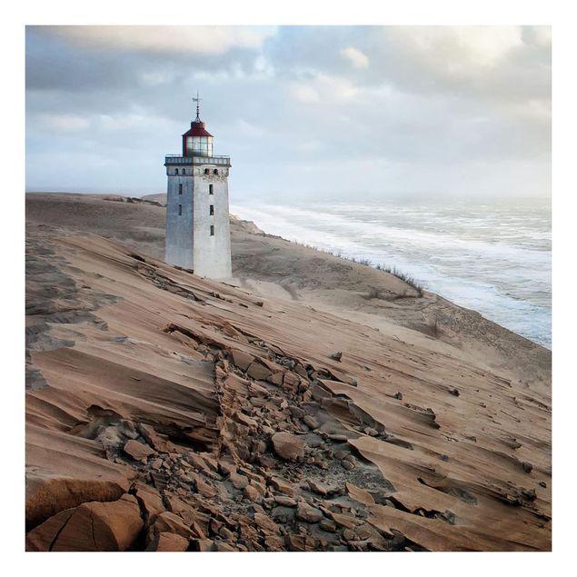 Beistelltisch - Leuchtturm in Dänemark