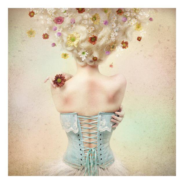 Beistelltisch - Mädchen aus dem Blumengarten