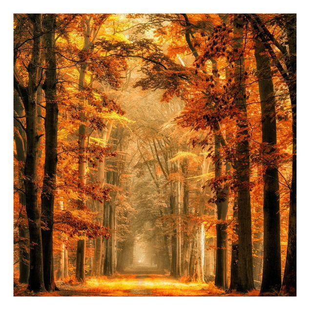 Beistelltisch - Märchenwald im Herbst