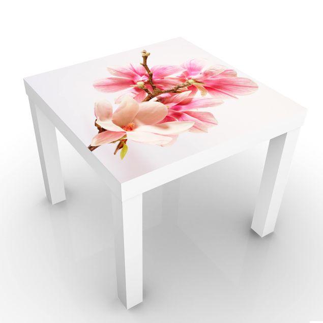 Beistelltisch - Magnolienblüten