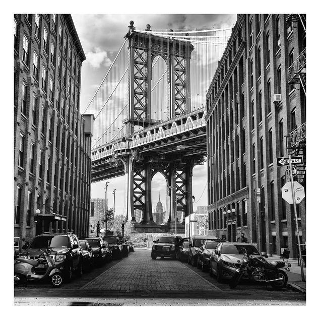 Beistelltisch - Manhattan Bridge in America