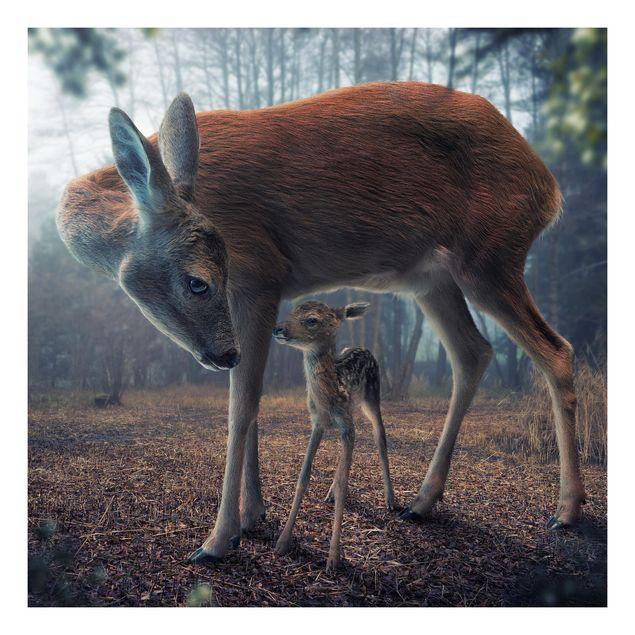 Beistelltisch - Mutter und Kitz