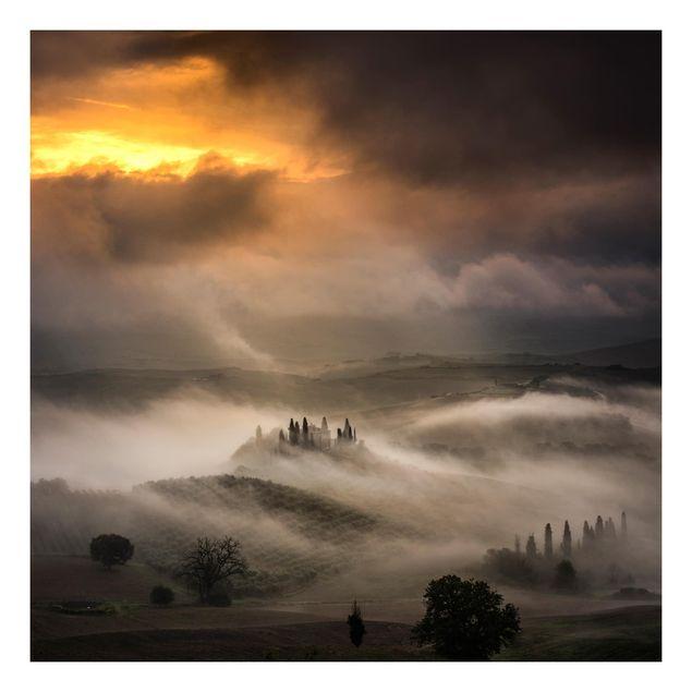 Beistelltisch - Nebelwellen