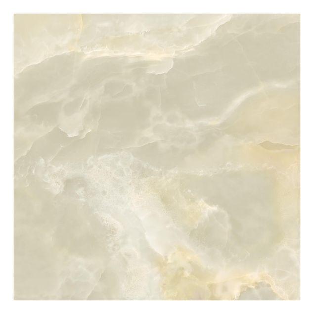 Beistelltisch - Onyx Marmor Creme