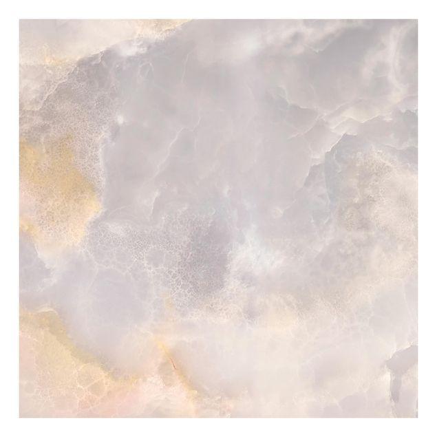 Beistelltisch - Onyx Marmor Grau