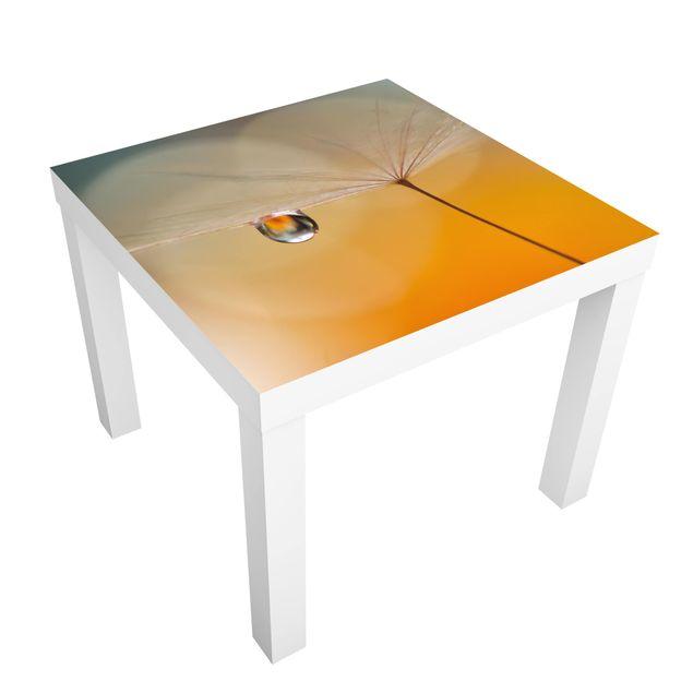 Beistelltisch - Pusteblume in Orange