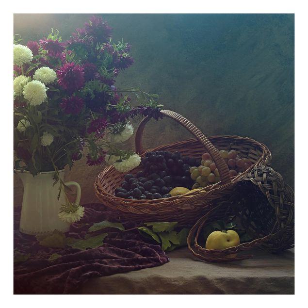 Beistelltisch - Stillleben mit Blumenvase