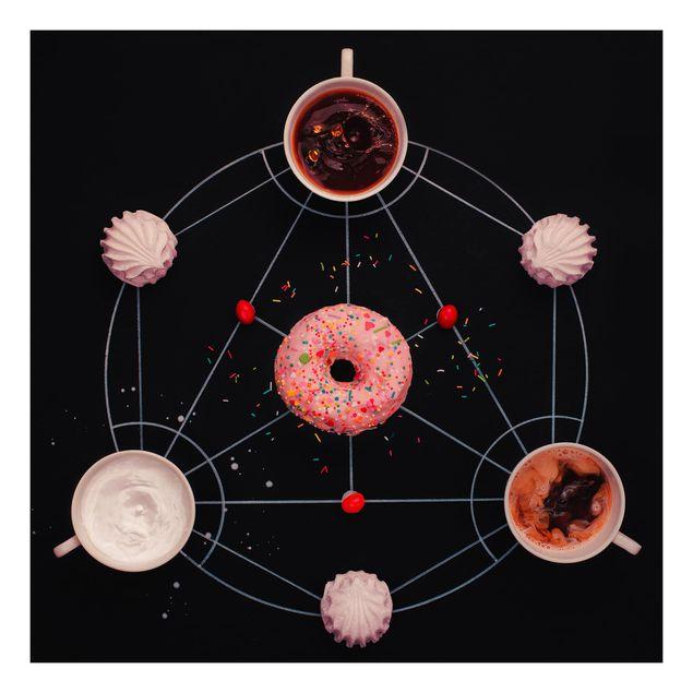Beistelltisch - Süße Alchemie des Kochens