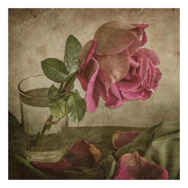 Beistelltisch - Tear of a Rose