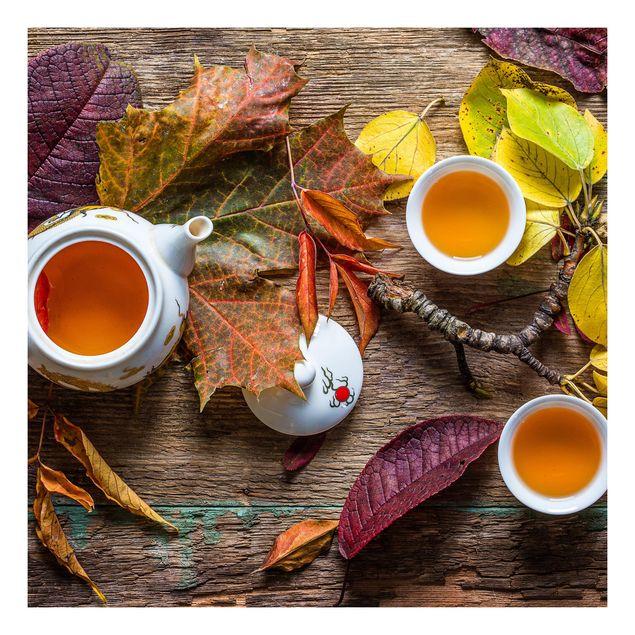 Beistelltisch - Tee im September