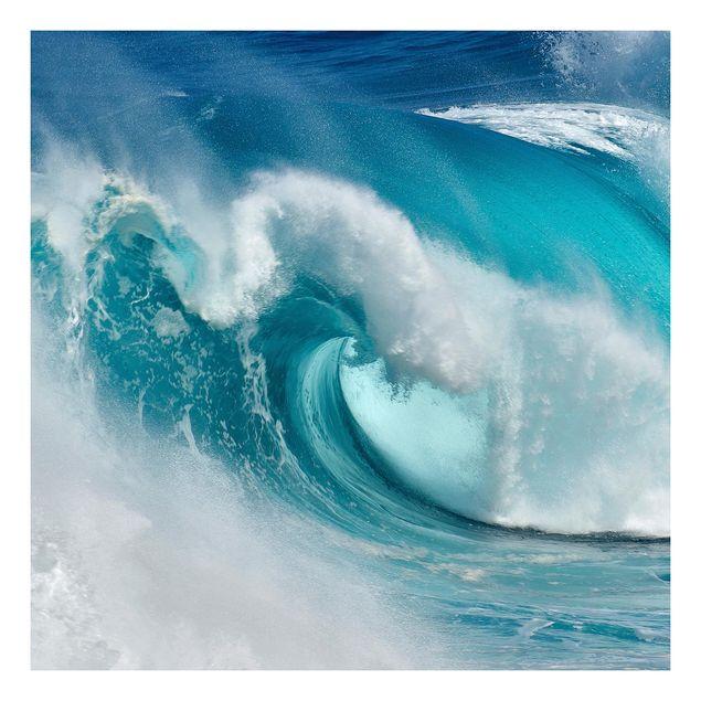 Beistelltisch - Tosende Wellen