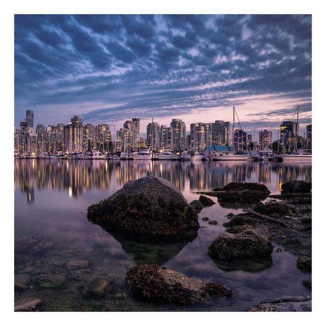Beistelltisch - Vancouver im Sonnenuntergang