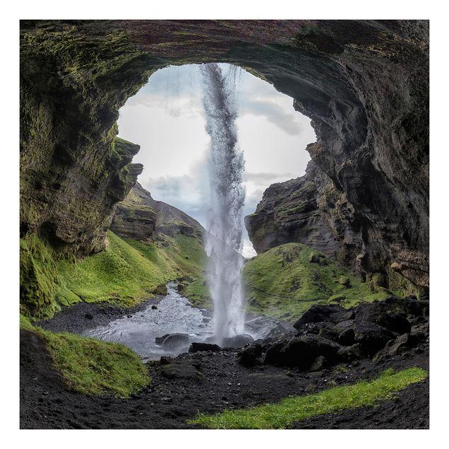 Beistelltisch - Verborgener Wasserfall