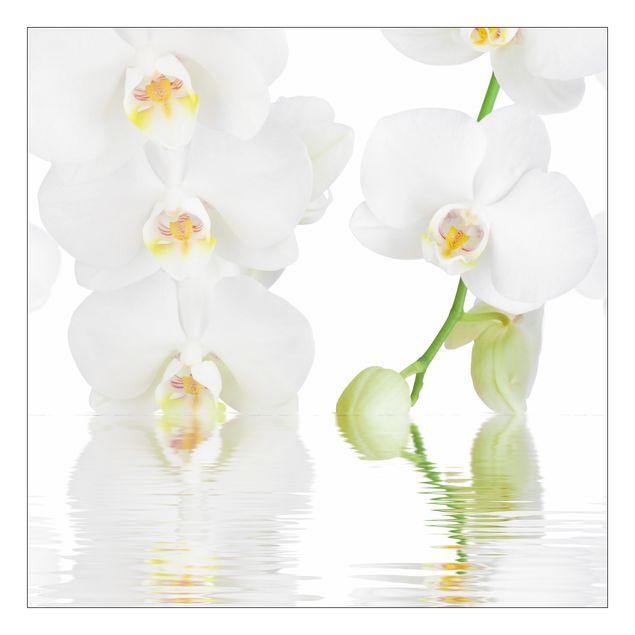 Beistelltisch - Wellness Orchidee - Weiße Orchidee
