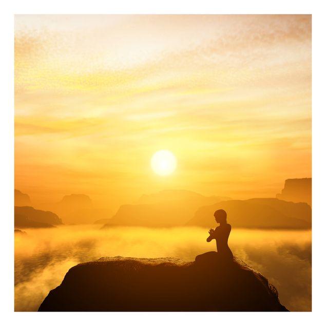 Beistelltisch - Yoga Meditation