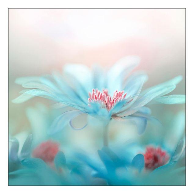 Beistelltisch - Zarte Blüten in Pastell