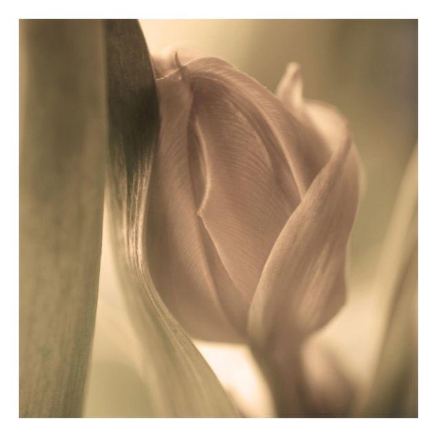 Beistelltisch - Zarte Tulpen