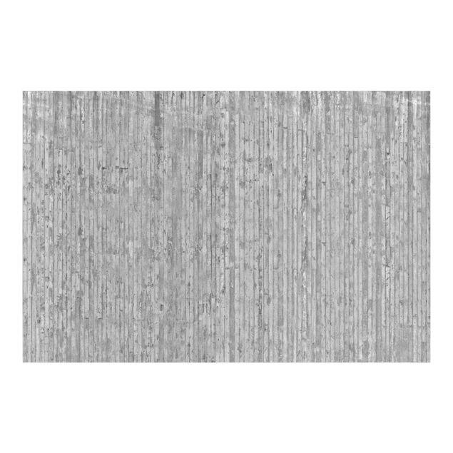 Fototapete Betonoptik mit Streifen