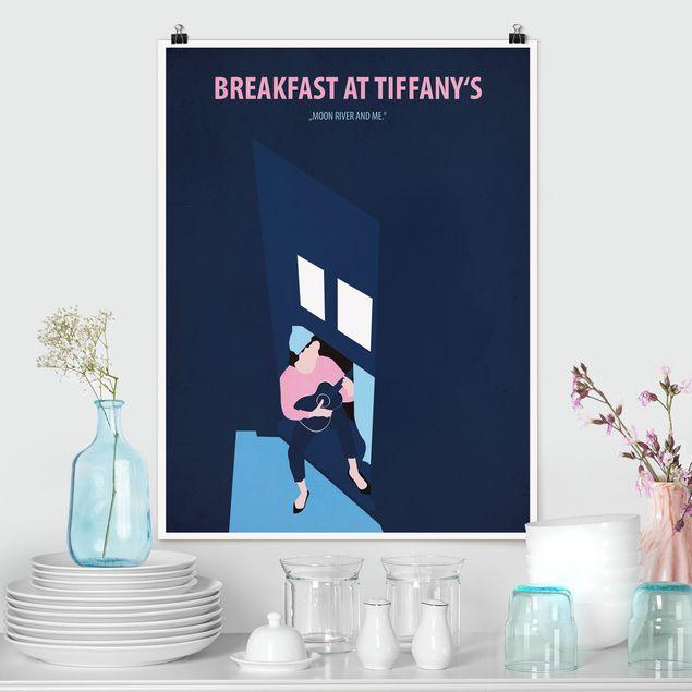 Poster - Filmposter Breakfast at Tiffany´s - Hochformat 4:3