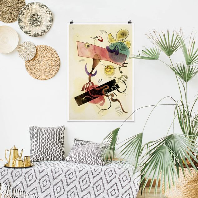 Poster - Wassily Kandinsky - Taches - Hochformat 3:2