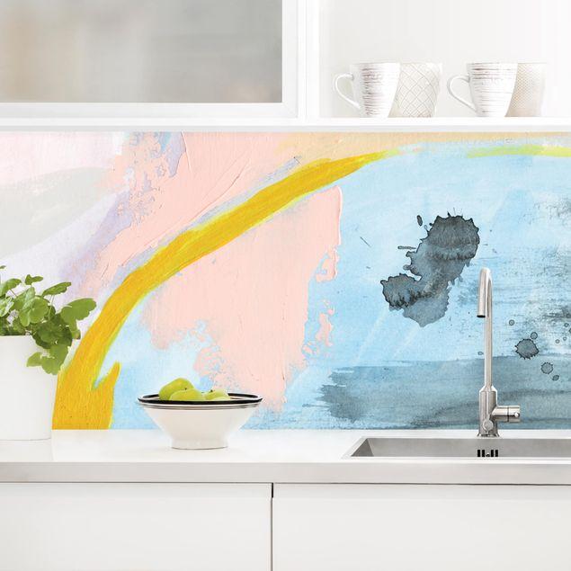 Küchenrückwand - Verschwommener Tagesanbruch I