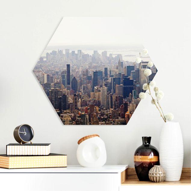 Hexagon Bild Forex - Der Morgen in New York