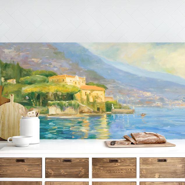 Küchenrückwand - Italienische Landschaft - Meer