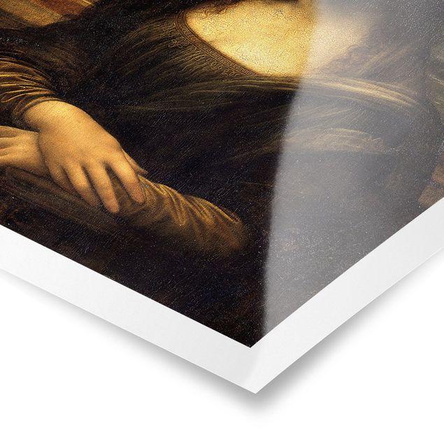 Poster - Leonardo da Vinci - Mona Lisa - Hochformat 3:2