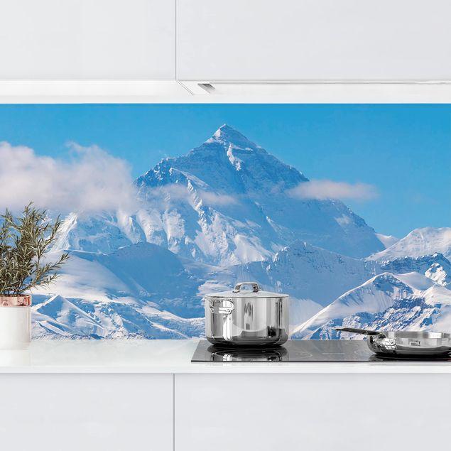 Küchenrückwand - Mount Everest