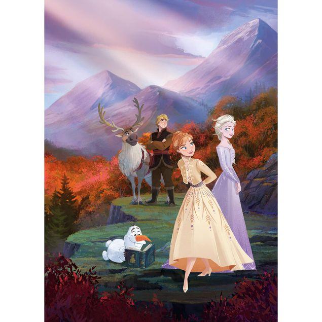 Disney Kindertapete - Frozen spring is coming - Komar Fototapete