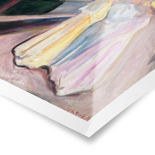 Poster - Edvard Munch - Drei Mädchen - Hochformat 3:4