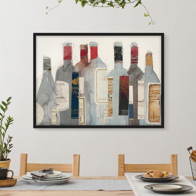 Bild mit Rahmen - Wein & Spirituosen I - Querformat 3:4