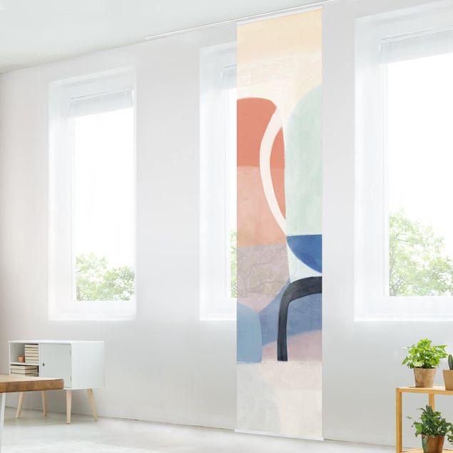 Schiebegardinen Set - Multiform II - Flächenvorhang