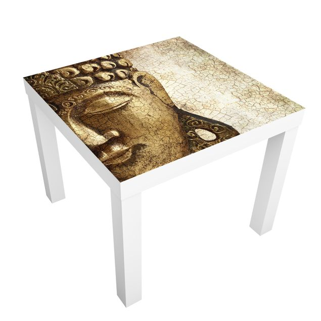 Möbelfolie für IKEA Lack - Klebefolie Vintage Buddha
