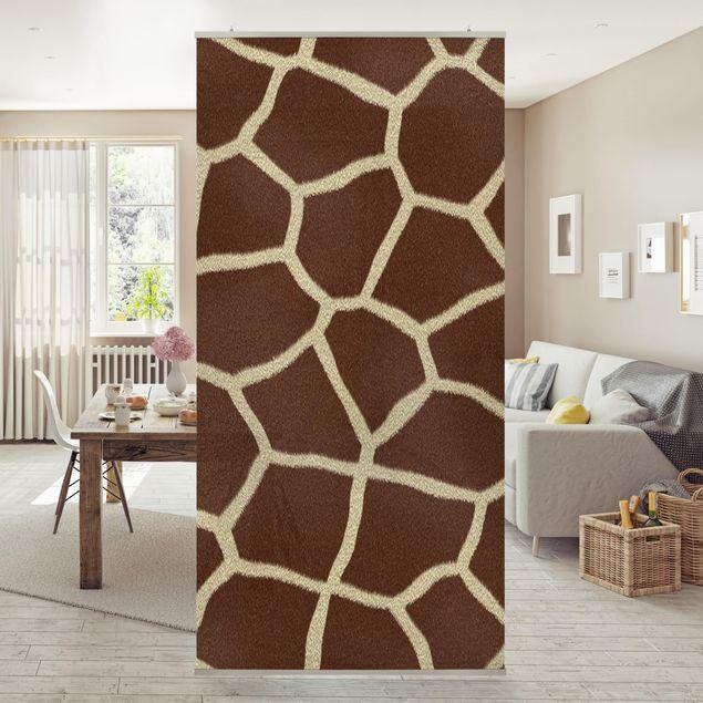 Raumteiler - Giraffe 250x120cm