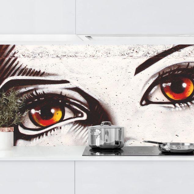 Küchenrückwand - Punk Graffiti