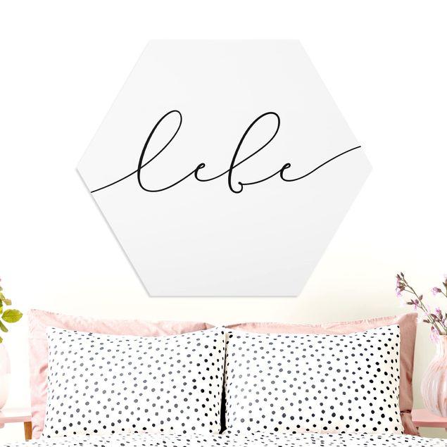 Hexagon Bild Forex - Lebe Kalligraphie